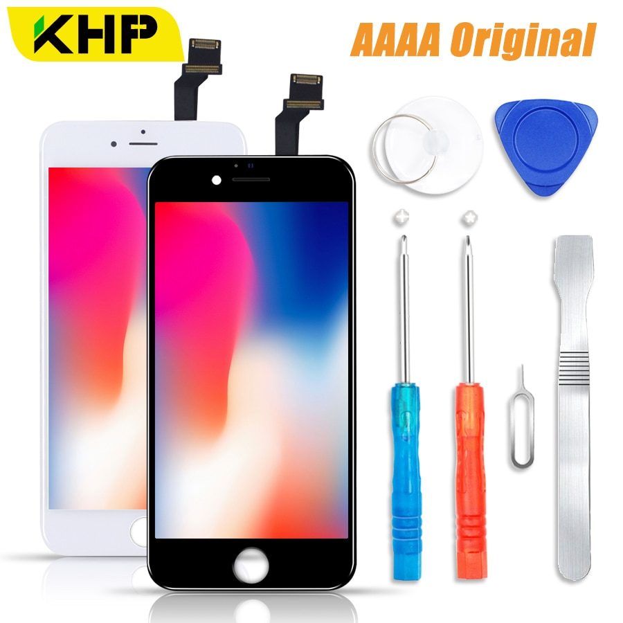 the latest cabd3 730bb 2018 KHP 100% AAAA Original LCD Screen For iPhone 6 6s Plus Screen LCD  Display Digitizer Touch Module Screens Replacement LCDS