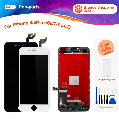 bfd8a86e7ed For Apple iPhone 6 6 Plus 6s 7 8g LCD Display Touch Screen LCD Assembly  Digitizer Glass lcd Replacement+tools+tempered glass $15.00 – $52.88