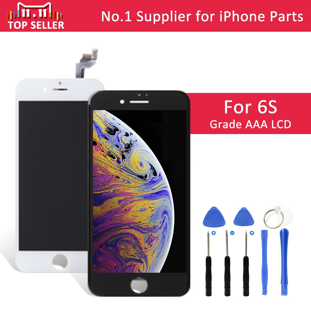 low priced 05e3a 0e42f No.1 AAA 4.7 inch LCD For iPhone 6S Display Touch Screen With Digitizer  Replacement Assembly Repair Parts A1633 A1688 A1700